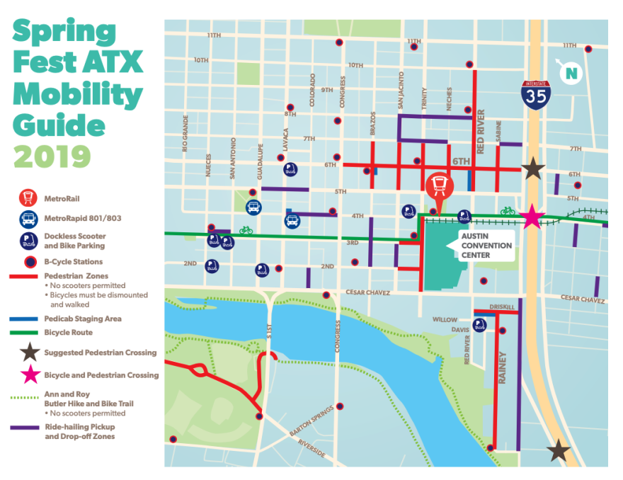 Your South by Southwest 2019 transportation guide from the City of Austin.