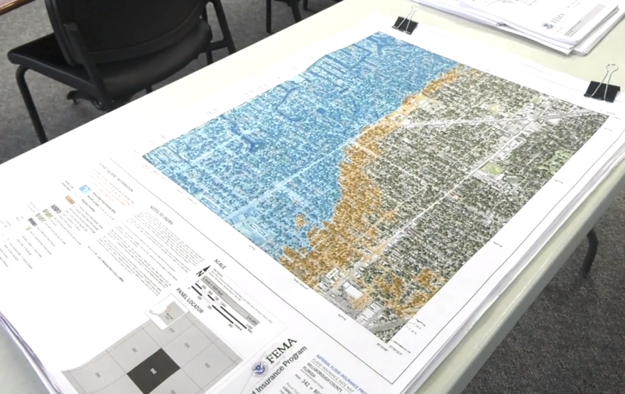 Coastal flood maps for Hillsborough County are being revised for the first time in 30 years.