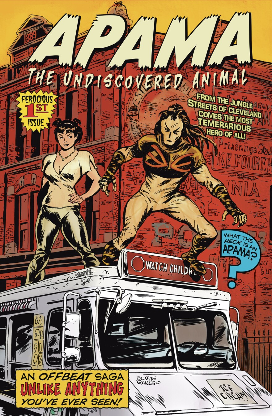 """Apama: The Undiscovered Animal"" Issue 1"
