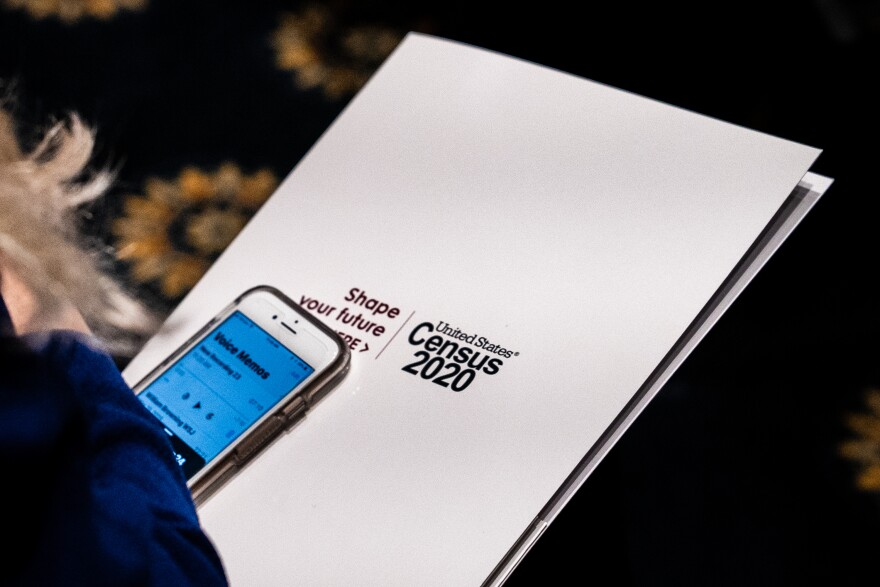The U.S. Census Bureau is trying to encourage most households to get counted for the 2020 census by filling out an online form on their smartphones, tablets or personal computers.