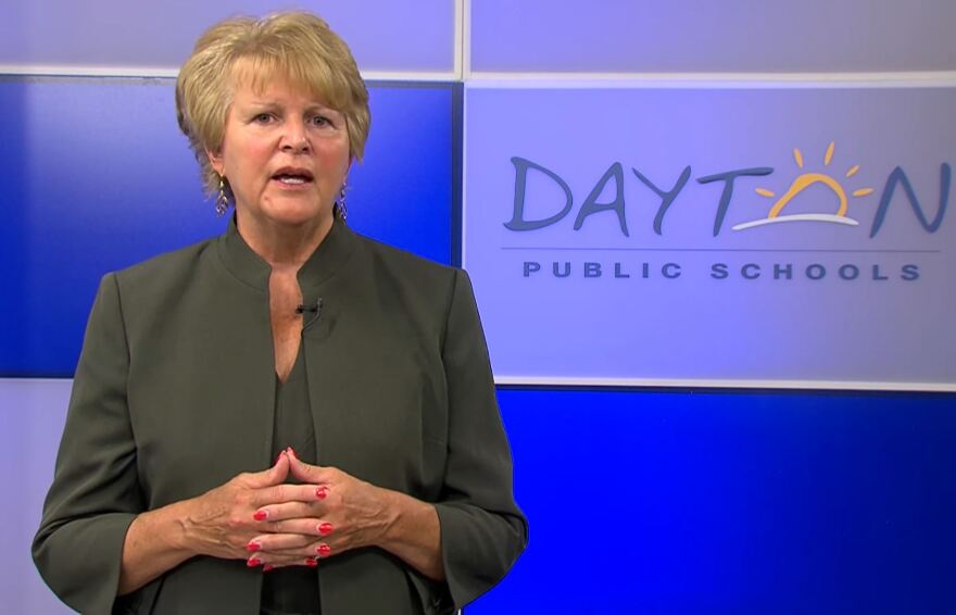 Dayton Public Schools Superintendent Elizabeth Lolli. The district's plans for the 2020-2021 school year have been developing quickly.