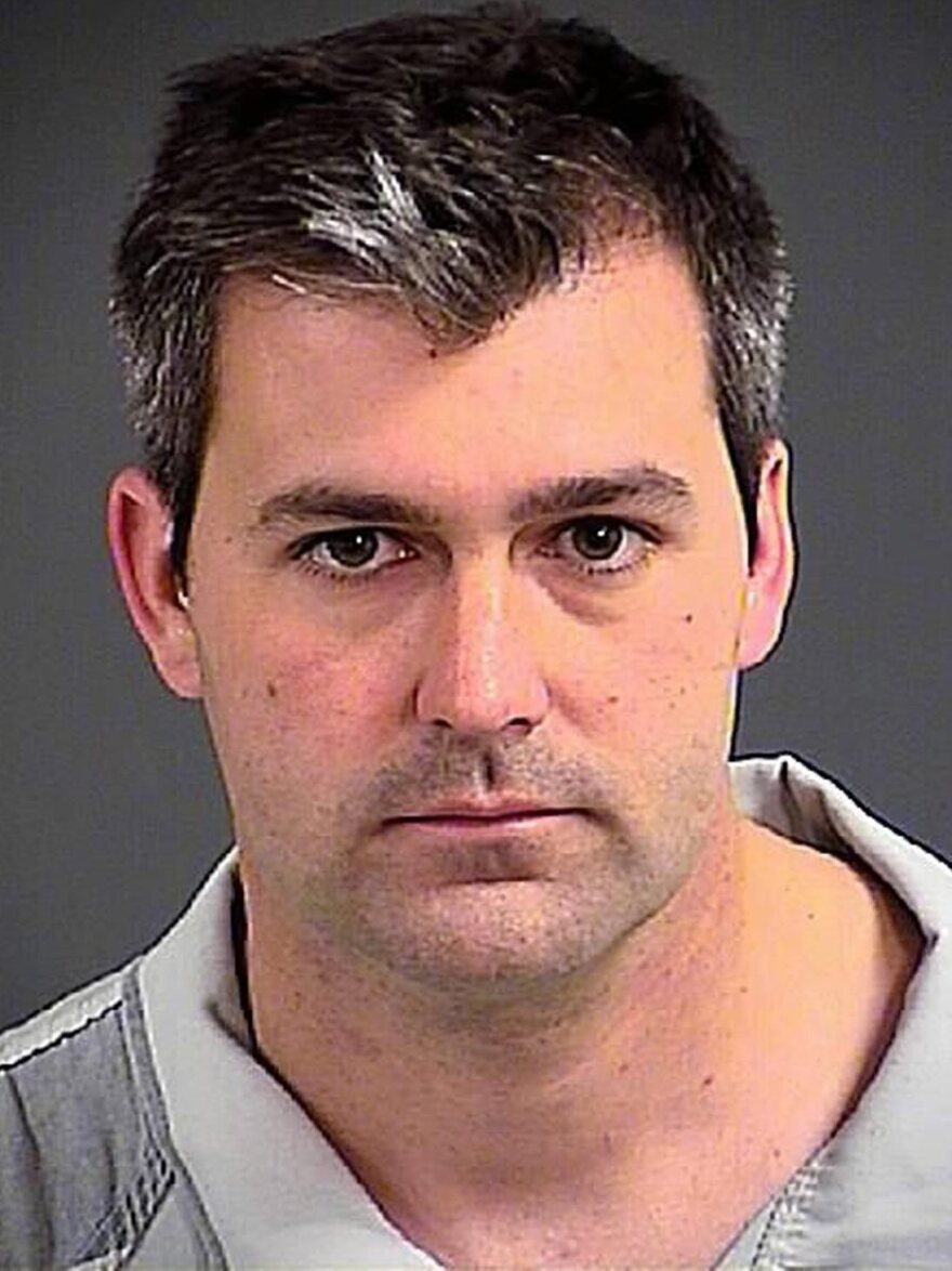 A handout booking photo issued by the Charleston County Sheriff's Office shows North Charleston police Officer Michael Thomas Slager, 33, who faces a murder charge in the death of Walter Scott.