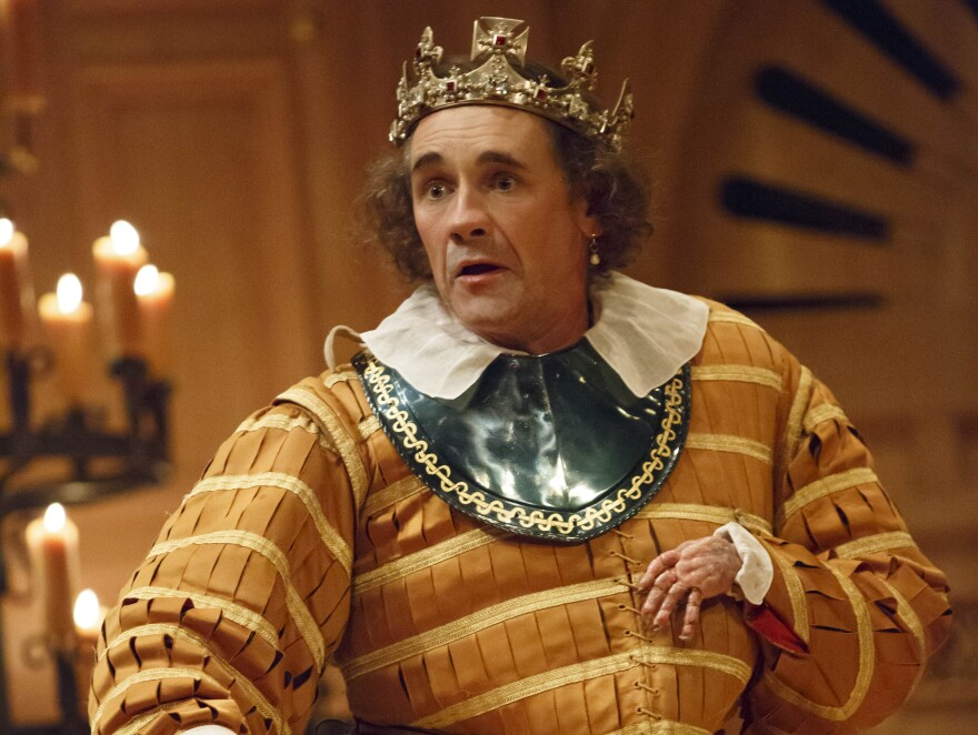 <strong>My kingdom for a horse: </strong>In the second play, <em>Richard III</em>, Rylance takes on the part of the ruthless monarch.