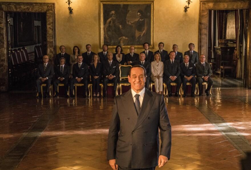 Toni Servillo stars as Silvio Berlusconi in <em>Loro</em>, the biopic movie about Italy's former prime minister.