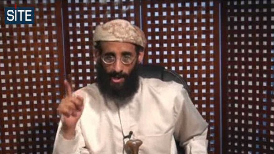 Anwar al-Awlaki, a cleric who allegedly played an operational role in al-Qaida, was killed in a 2011 drone strike in Yemen, along with his 16-year-old son and an alleged propagandist for terror groups. All three were American citizens. Al-Awlaki is shown here in an image taken from a 2010 video posted on radical websites.