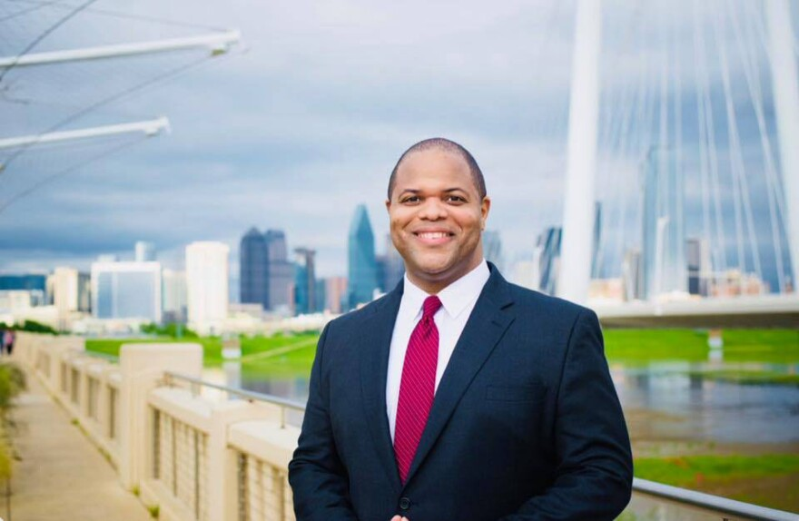 Eric Johnson, a former state representative, won the Dallas mayoral runoff in June.