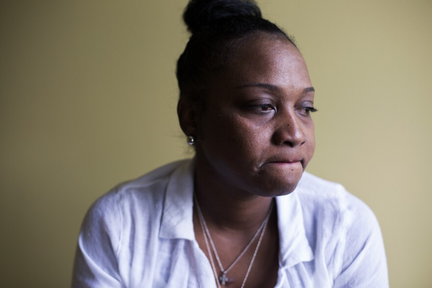 Shatiega Brown hoped her 41-year-old brother, Norman Brown, would be released on parole after more than two dozen years behind bars. (July 28, 2017)