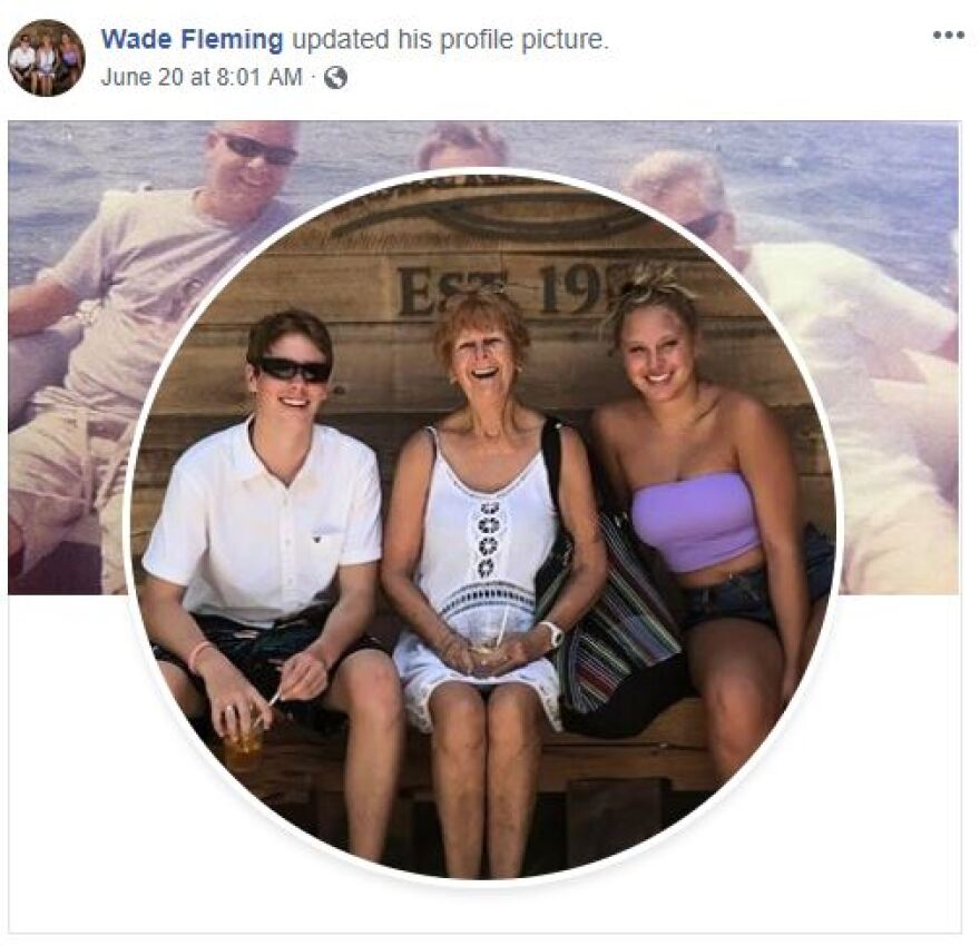 Wade Fleming told The Associated Press on Monday that Lynn Fleming, who retired to Florida's Gulf Coast, stumbled and fell into the water on Coquina Beach while her family was visiting from Pittsburgh.