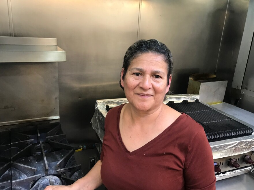 Rosa Martinez remembers a harrowing journey crossing the U.S.-Mexico border. Now she cooks delicacies from her native Oaxaca at La Cocina.