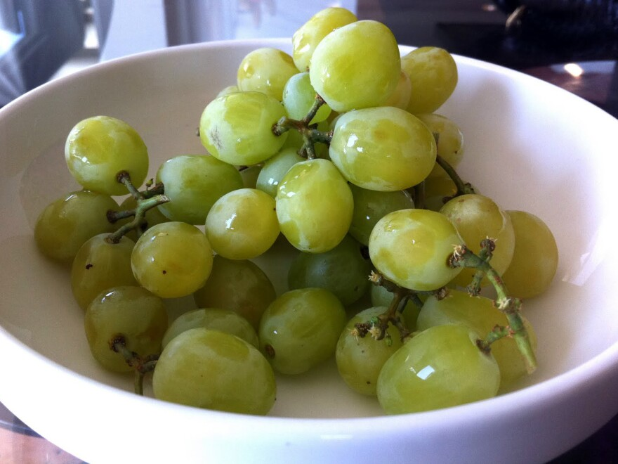 The Cotton Candy grape looks and smells like a regular green grape. But the taste will evoke memories of the circus.