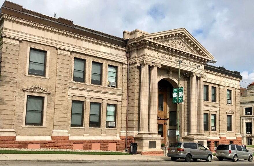 The A.B. Graham Building in Springfield, Ohio.