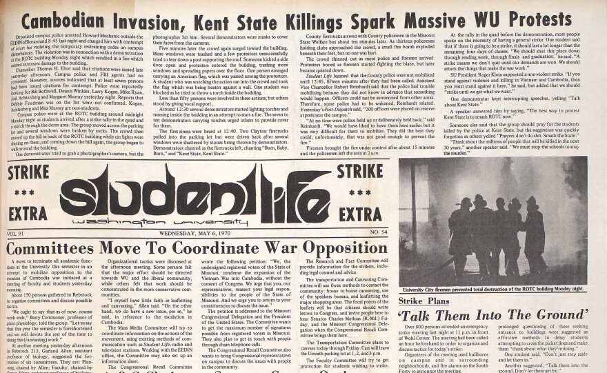Student Life edition from May 6 1970