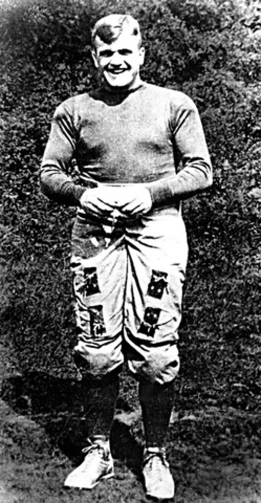 Athlete Ira Rodgers