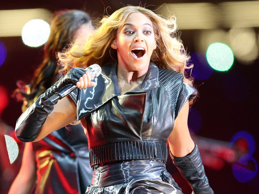 Beyonce took the stage at this year's Super Bowl halftime show. Imagine a scientist instead. Perhaps dressed differently.