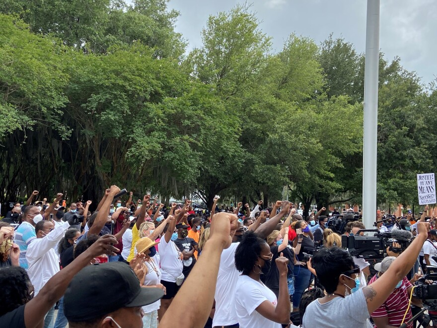 Unlike many southern cities, Brunswick, Ga., hasn't seen violence, riots or major protests about race, said Glynn County Commissioner Allen Booker. Ahmaud Arbery's killing has exposed racial tensions in a new way.