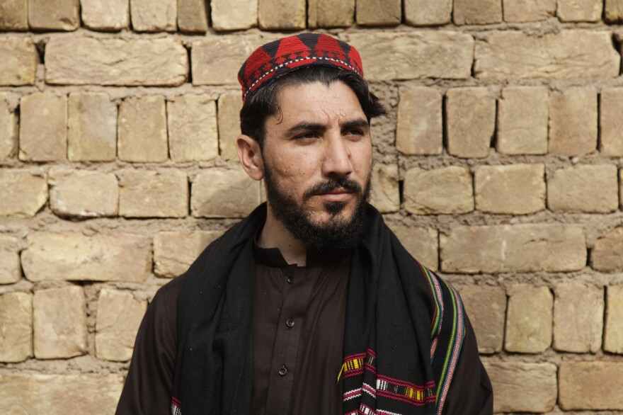 Activist Manzoor Pashteen rose to prominence this year, leading a peaceful protest movement.