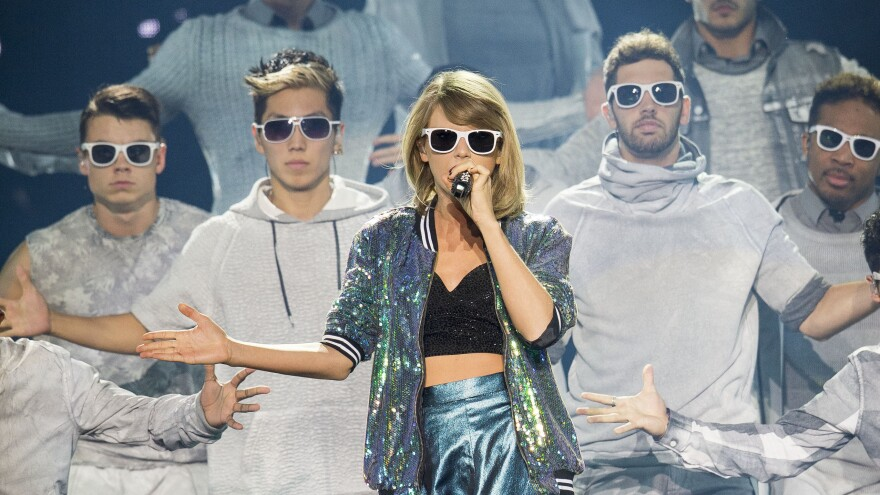 Taylor Swift performs in Dublin. In June, Swift protested Apple's payments to musicians in its new Apple Music streaming service.