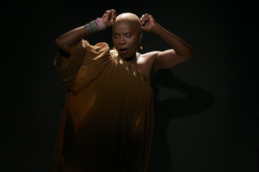 Angelique Kidjo recently won her fourth Grammy Award, for 'Celia,' an Afrocentric reimagining of the music of legendary salsa queen Celia Cruz. [2/14]