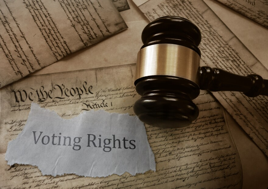 Voting Rights and Gavel