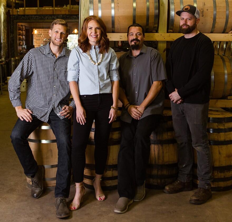 Andrew Porter, Liz Porter, Jason Harris, Chris Ritenour