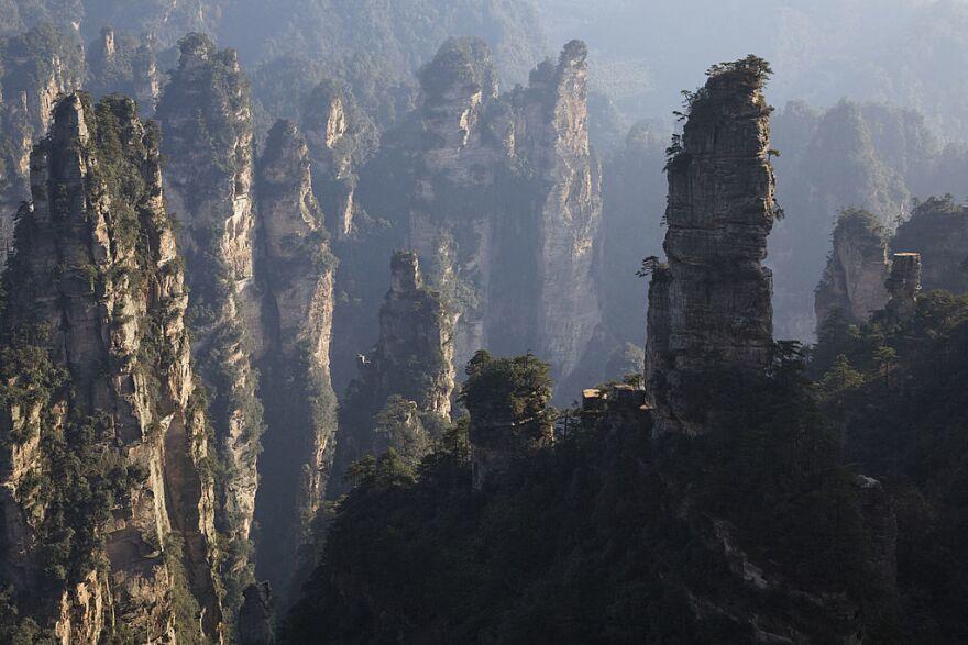Zhangjiajie National Forest Park in China's Hunan province.