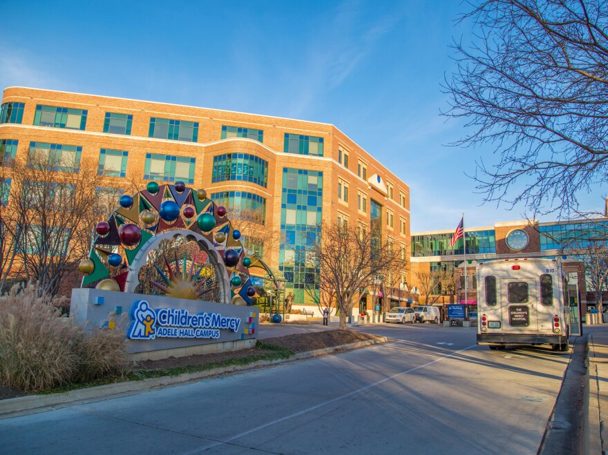 Children's Mercy Hospital in Kansas City, Mo., was the first to report a surge of children with serious respiratory illness in August.