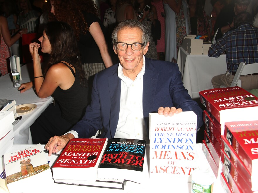 Robert Caro attends Author's Night 2017 to benefit the East Hampton Library on Aug. 12, 2017 in East Hampton, New York.