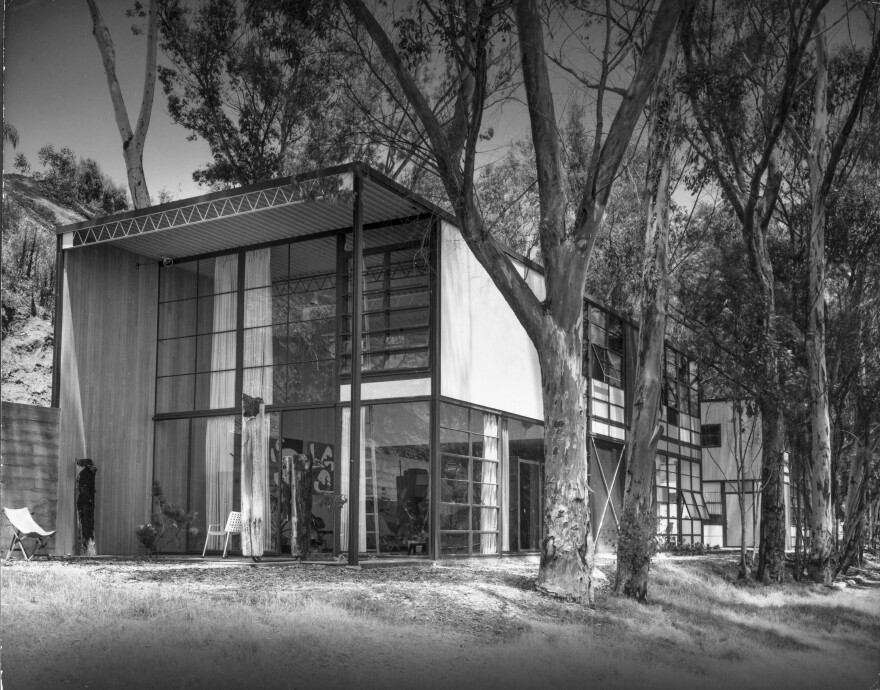 The Eames House, built in 1949 in the Pacific Palisades, is considered one of the most important postwar residences in the U.S. The National Historic Landmark celebrates its 70th anniversary this year with a new conservation plan.