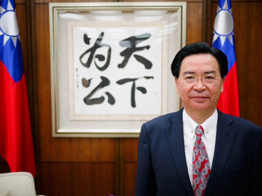 "Taiwanese Foreign Minister Joseph Wu told NPR that ""every other country has the right to enter into diplomatic relations with other countries,"" but that Taiwan's situation is different because ""it is being blocked by China to do all those things."""