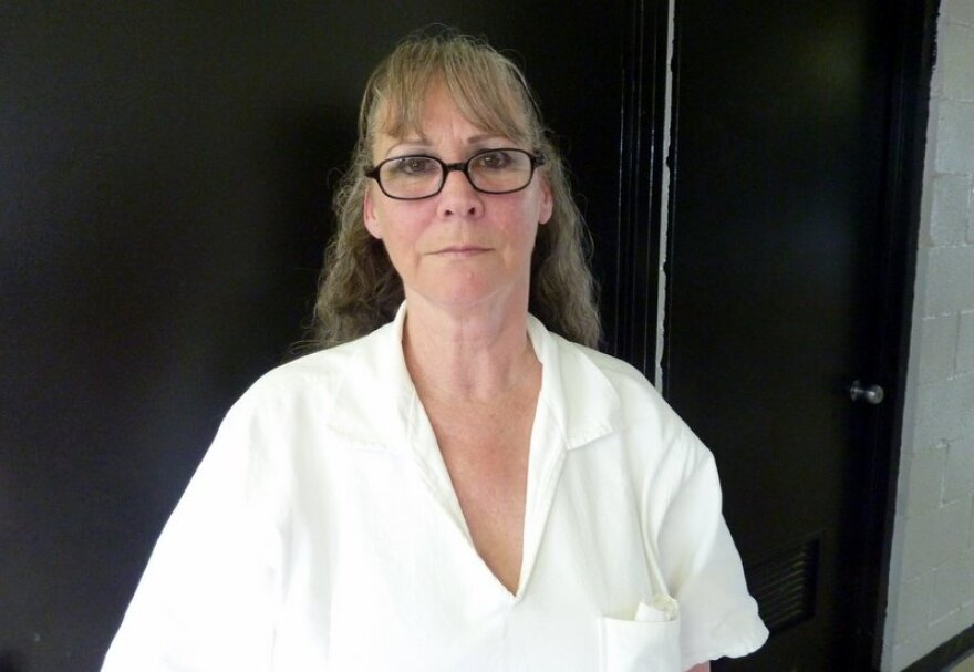 Fran Keller at the Crain Unit in Gatesville on August 26, 2013.