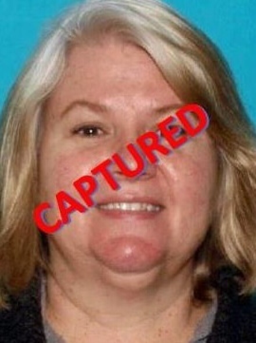 Lois Riess, 56, is wanted for questioning related to separate killings in Minnesota and Florida. She was arrested after spending weeks as a fugitive.