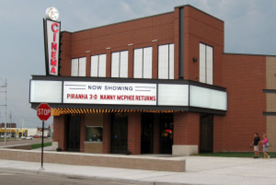 Granite City used TIF funds to build a new movie theater.