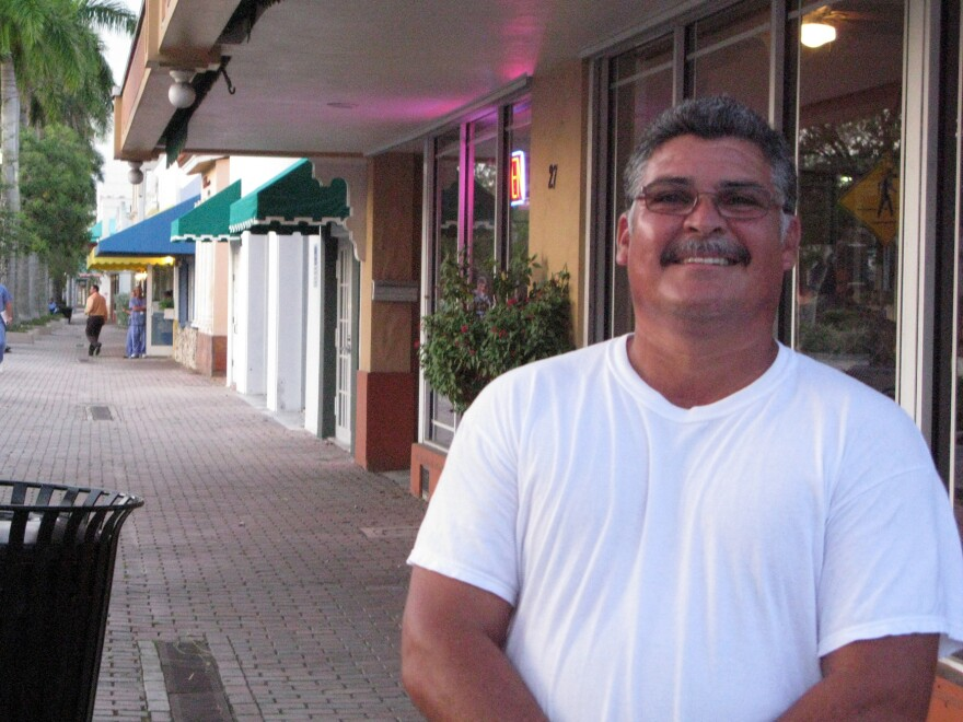 """Homestead restaurant owner Cesar Berrones says the city's character has changed. Before Andrew, it was more like a small town, and now, """"it's all new people,"""" he says. """"It's good for business, it's grown, but the old friends have gone. It's different."""""""