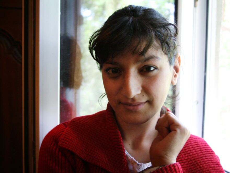 Rosigul Shaimurdova, 18, has been battling drug-resistant TB for more than two years. The medications have left her permanently deaf.