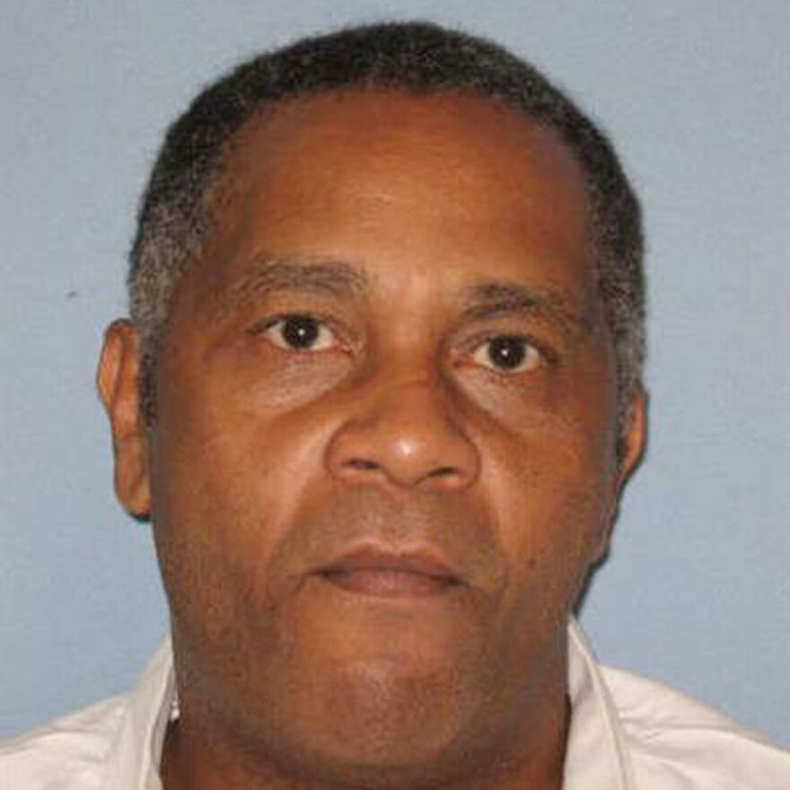 A photo made available by the Alabama Department of Corrections shows Anthony Ray Hinton. Hinton, who spent nearly 30 years on death row, will go free Friday, after prosecutors told a court that there is not enough evidence to link him to the 1985 murders he was convicted of committing.