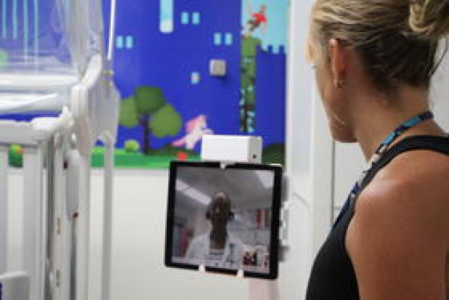 Doctors at Tallahassee Memorial Healthcare's Children's Emergency Center can consult remotely with specialized physicians at Wolfson's Children's Hospital in Jacksonville via telemedicine.