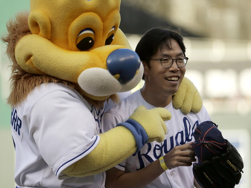 SungWoo Lee is a fan of the Kansas City Royals who has become a fan favorite.