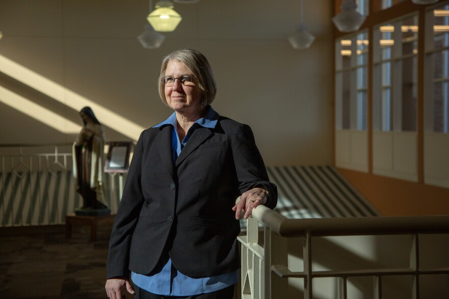 """Reta Baker, president of Mercy Hospital in Fort Scott, Kan., began as a staff nurse in 1981 and """"has been here ever since."""" The hospital closed at the end of 2018."""