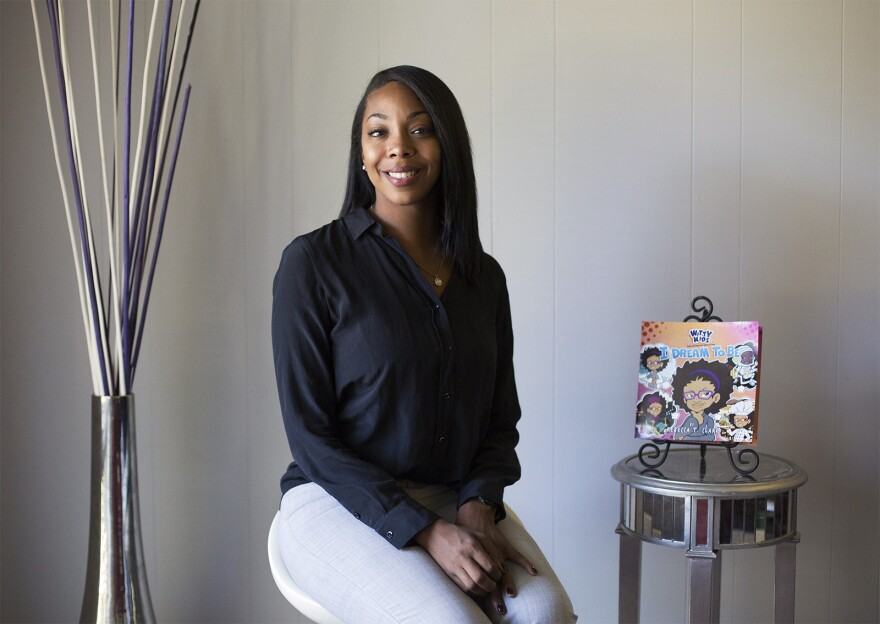 Entrepreneur and author Rebecca Clark started a company to self-publish her children's book series.
