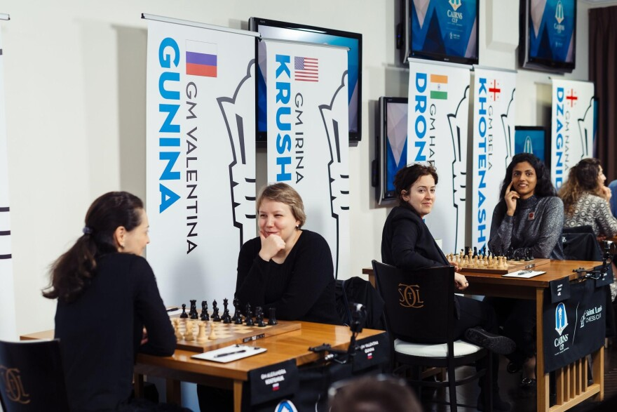 The world's top women chess players gathered in St. Louis for the inaugural Cairns Cup in 2019.