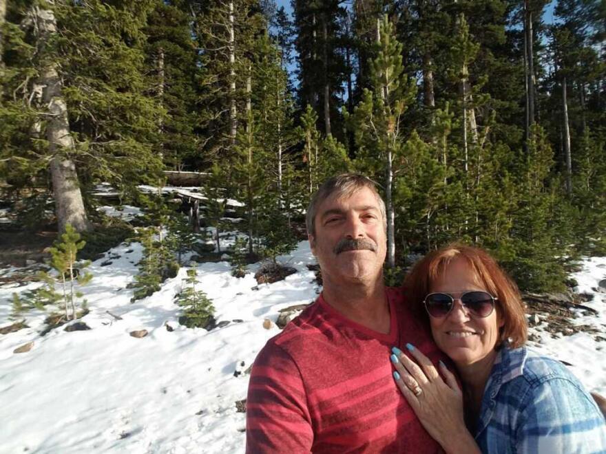 Jon and Deborah Reynolds in September 2016.