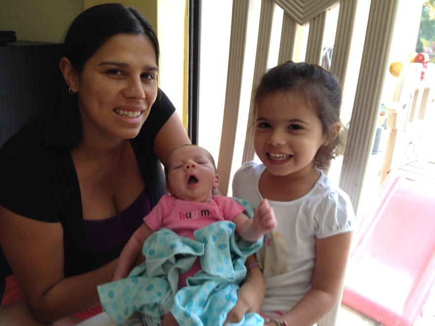 Karolina Salas had two unplanned C-sections because the doctor told her it was necessary for the baby.