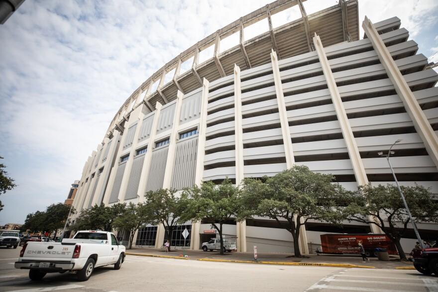 UT Austin's DKR Memorial Stadium.