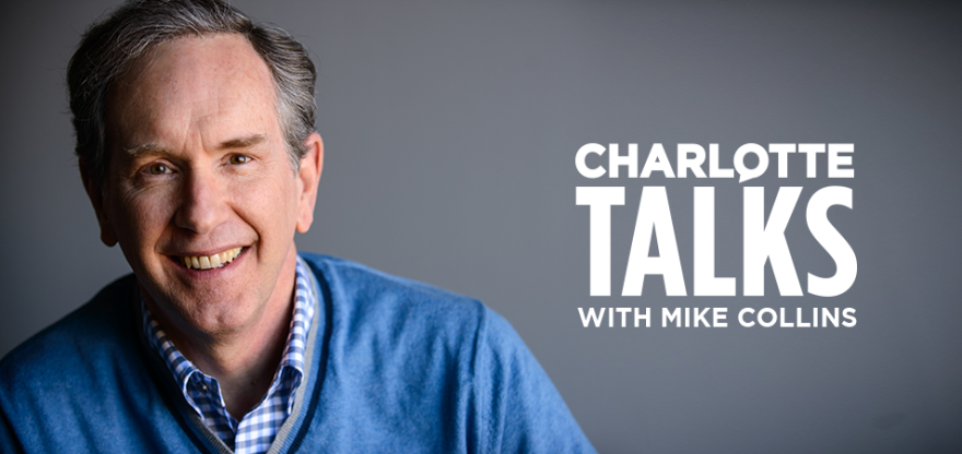 Mike Collins, host of Charlotte Talks