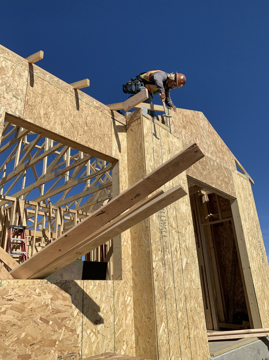 In the past year, developers like NexMetro near Denver built more than 40,000 homes around the country as single-family rentals, the National Association of Home Builders says.