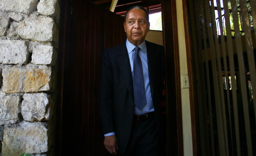 "Former Haitian president Jean-Claude Duvalier ""Baby Doc"" has died at age 63. He returned from exile in 2011."