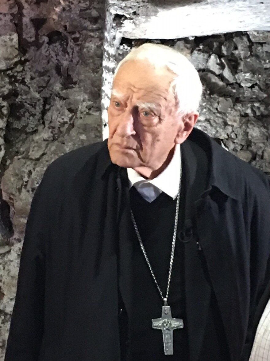 Monsignor Luigi Bettazzi, now 92, is the last survivor among the 40 bishops who signed the the Pact of the Catacombs in 1965. He says Pope Francis, with his emphasis on serving the poor, is a living symbol of what the bishops were seeking to accomplish.