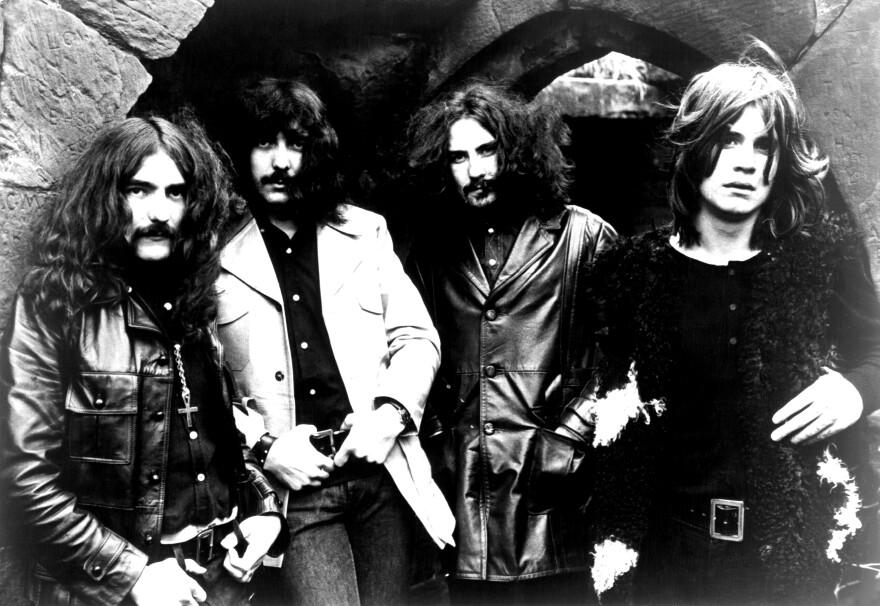 Black Sabbath circa 1970.