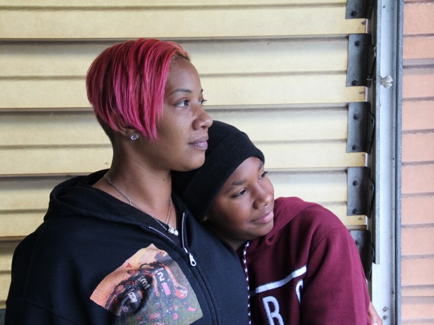 Collette Williams and her son SaVaughn live a few blocks from the Clairton Coke Works. Pollutants from the plant exceed local limits, and Williams believes that exacerbates her son's severe asthma.