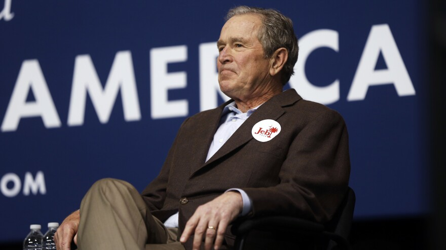Former President George W. Bush (above); his father, former President George H.W. Bush; and brother Jeb Bush, who ran for president this year, will not be attending this week's Republican National Convention in Cleveland.